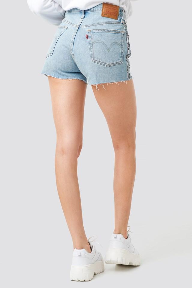501 High Rise Shorts Dibs W/ Tape