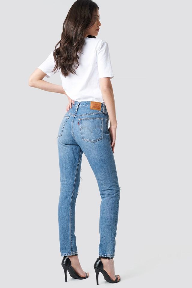 501 Skinny Jeans Nice As Pie