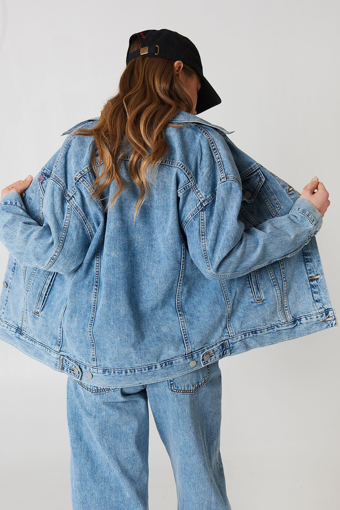 Baggy Trucker Jacket NA-KD.COM