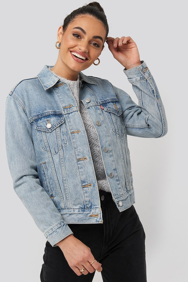 Exboyfriend Soft Trucker Jacket For Real