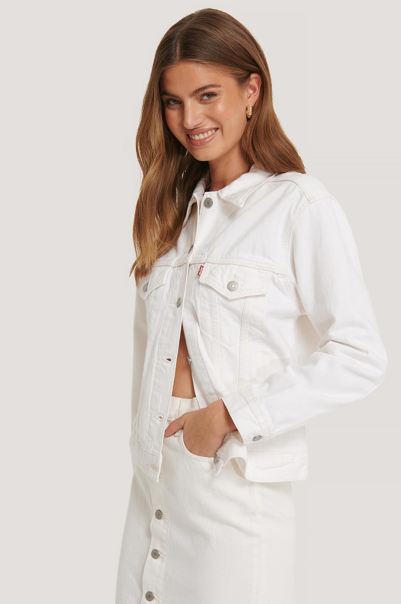 Levi's Jeansjacke - White   Bekleidung > Jacken > Jeansjacken   Levi's