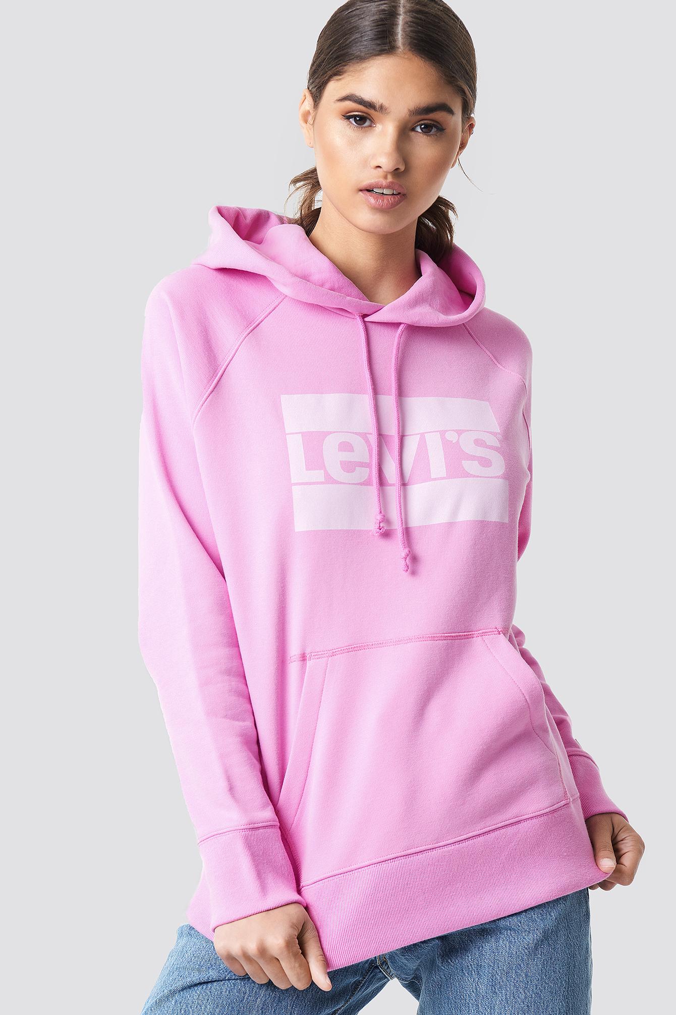 levi's -  Graphic Sportswear Hoodie - Pink