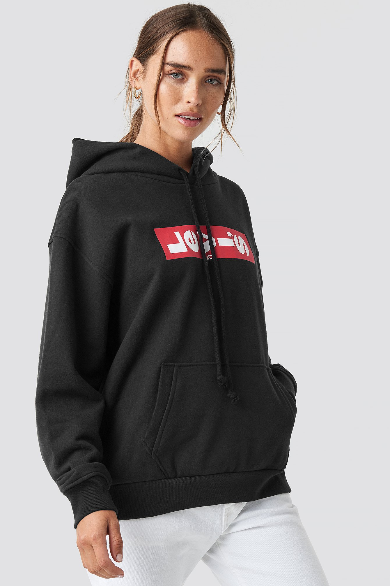 levi's -  Graphic Unbasic Hoodie - Black