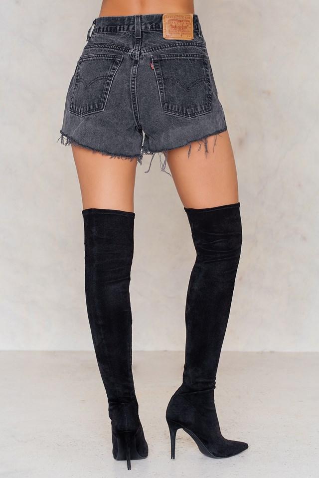 Levis vintage Zip black Black