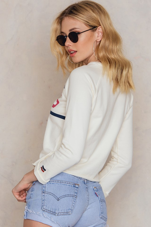 Raw Graphic Sweatshirt NA-KD.COM