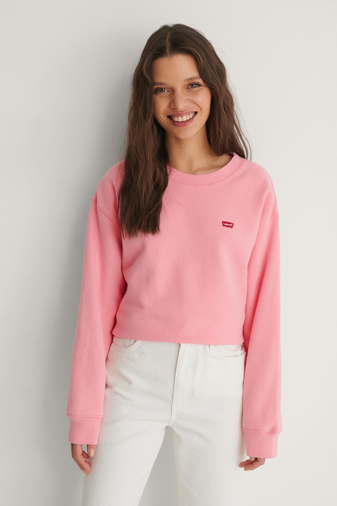 Levi's Rundhalset Trøje - Pink