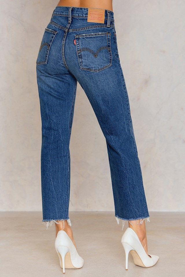 Wedgie Straight Jeans Lasting Impression