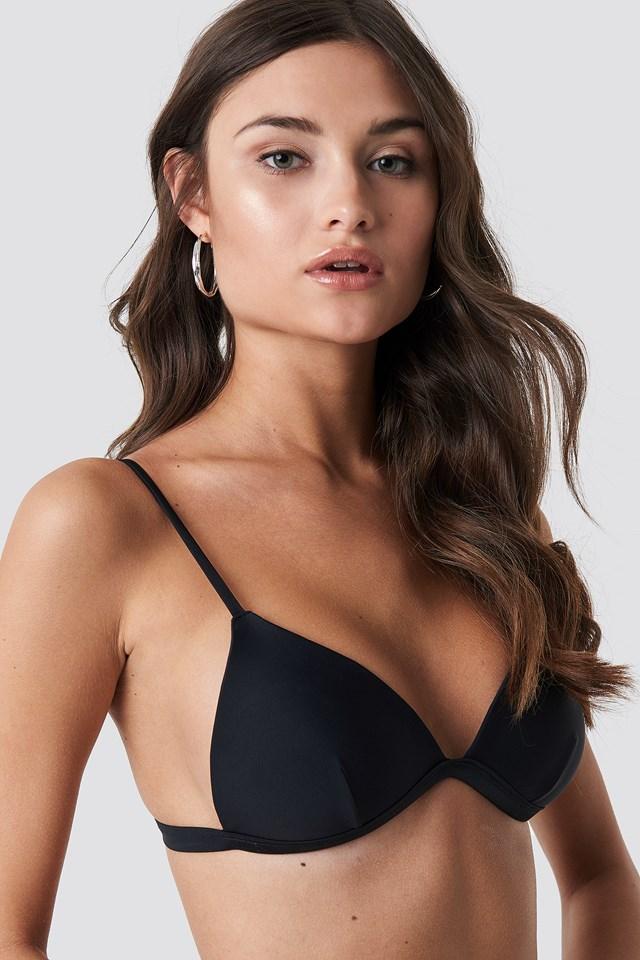 Light Padded Bikini Top Black