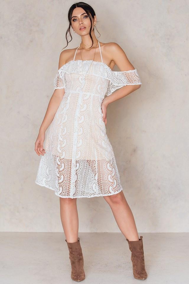 Palais De Dress White