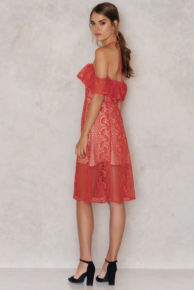 Palais De Dress Flame Red