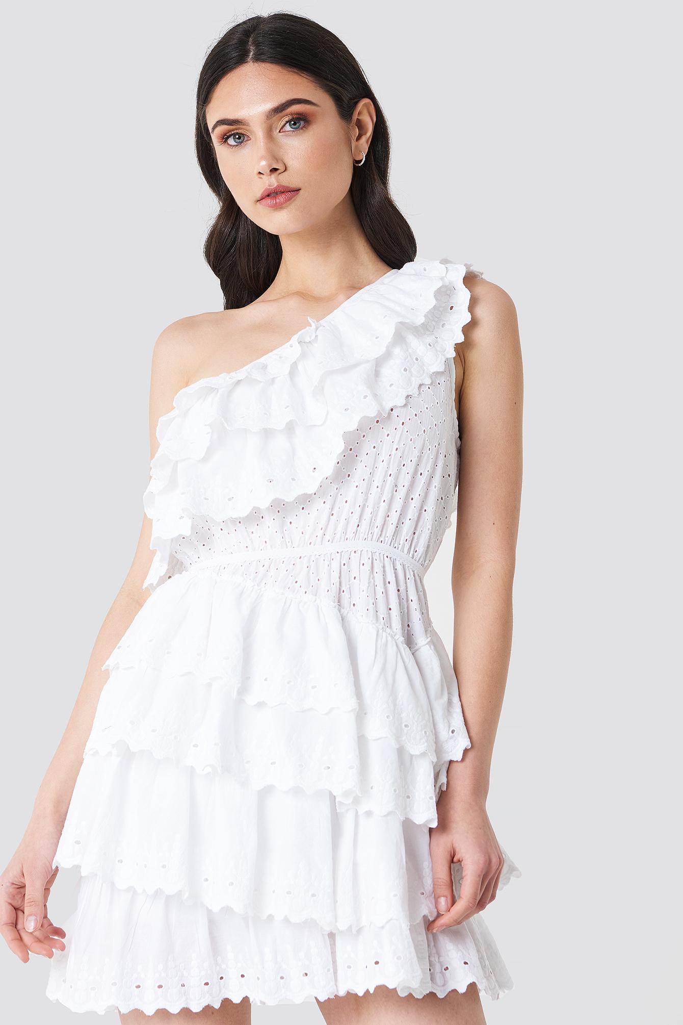 All Over Flounce Dress