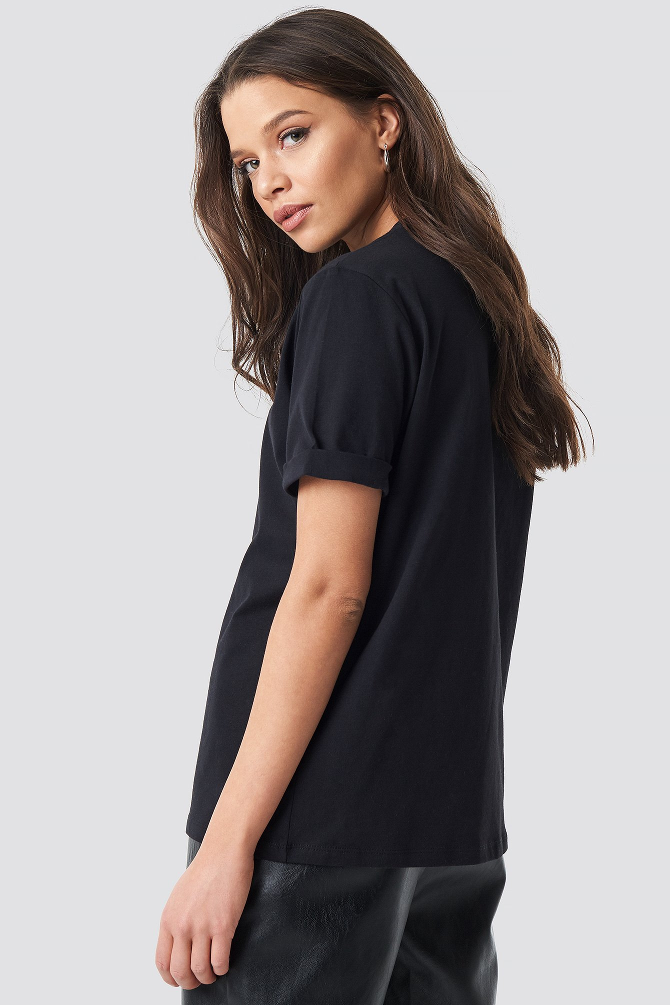 Basic Roundneck T-shirt NA-KD.COM