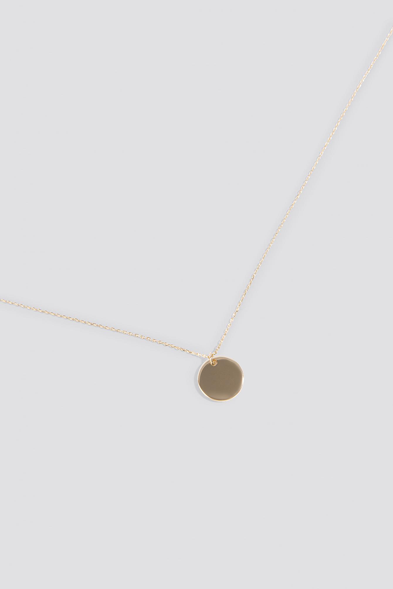 Big Round Pendant Necklace NA-KD.COM