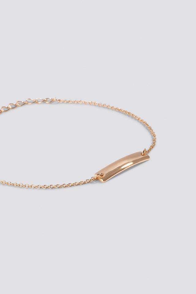 Clean Bar Bracelet NA-KD.COM