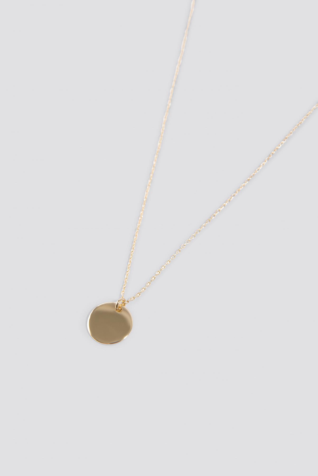 Little Round Pendant Necklace NA-KD.COM