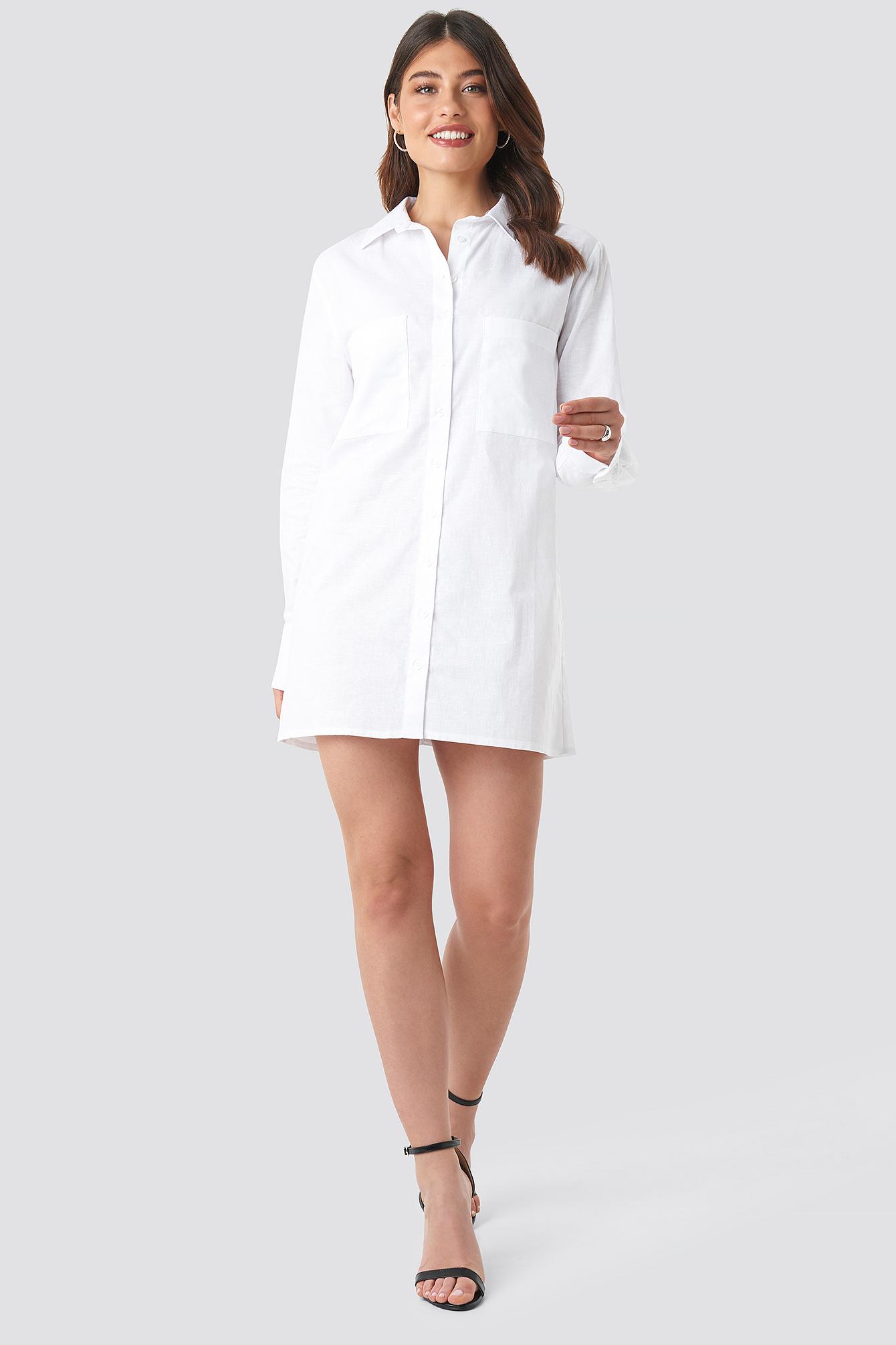 Oversized Shirt Dress NA-KD.COM