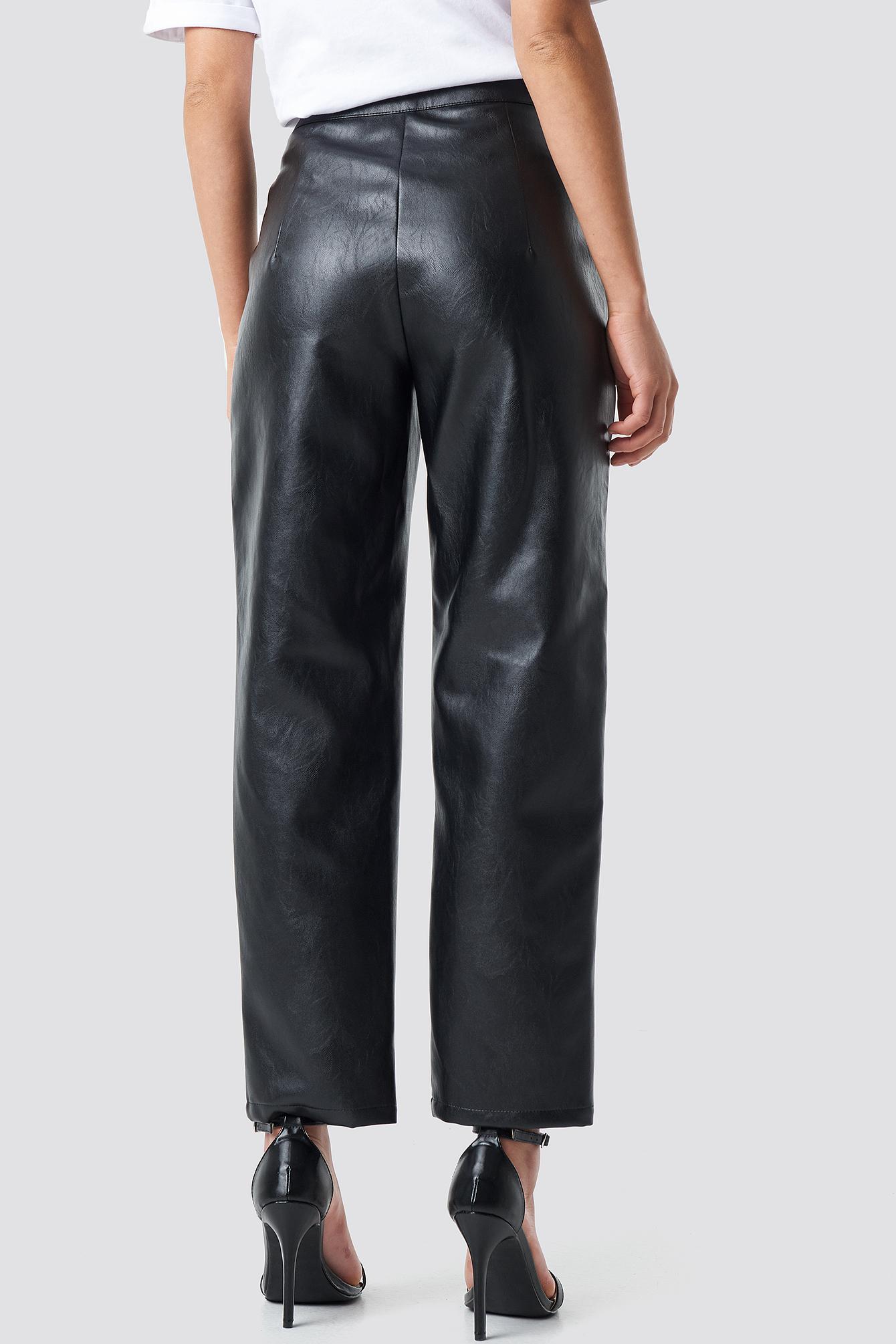 PU Leather Pants NA-KD.COM