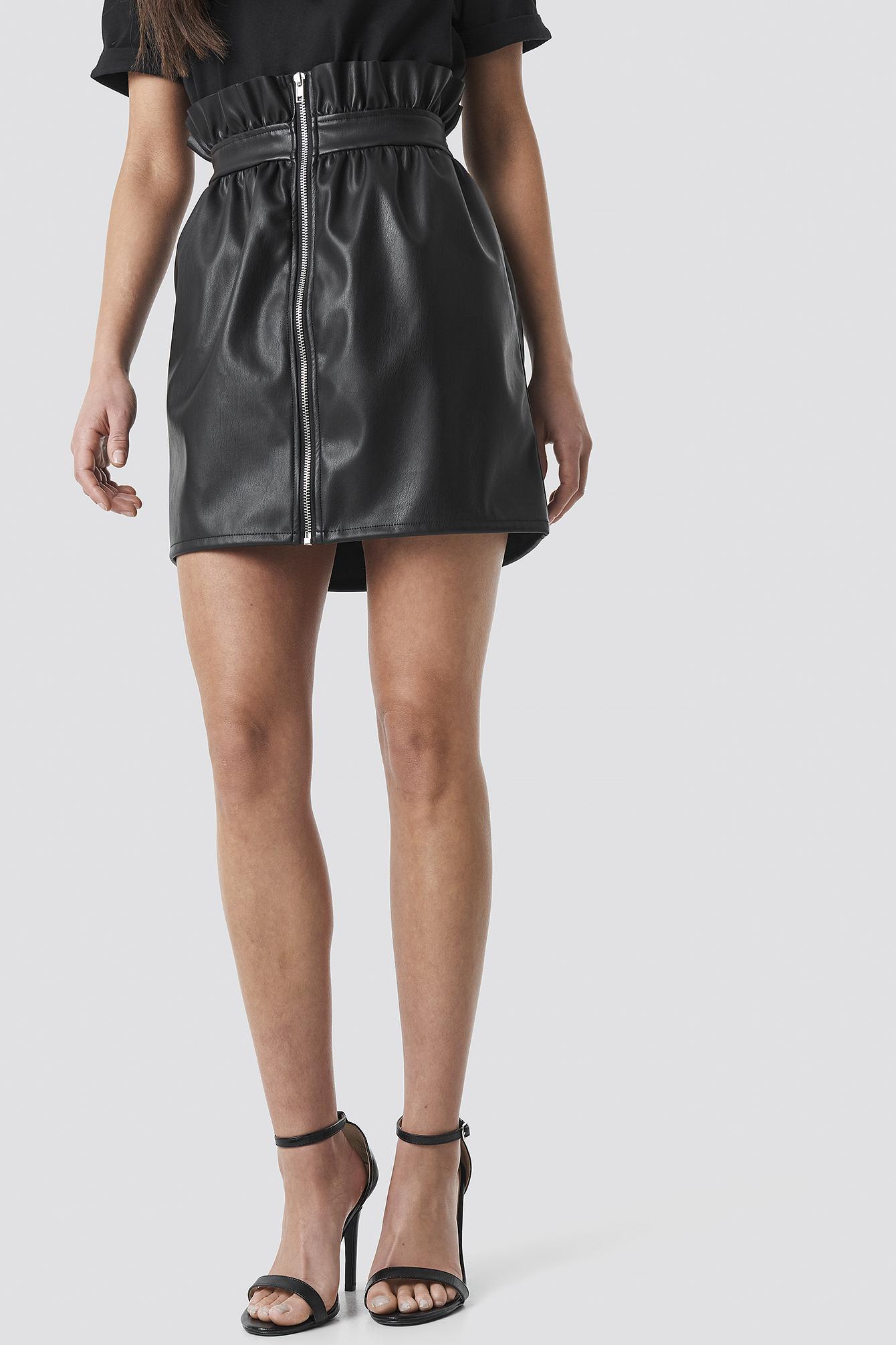 PU Leather Skirt NA-KD.COM