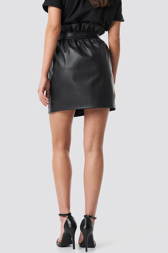 PU Leather Skirt NA-KD.COM