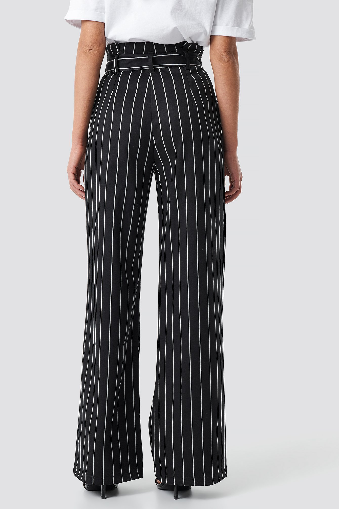 Striped Flare Pants NA-KD.COM