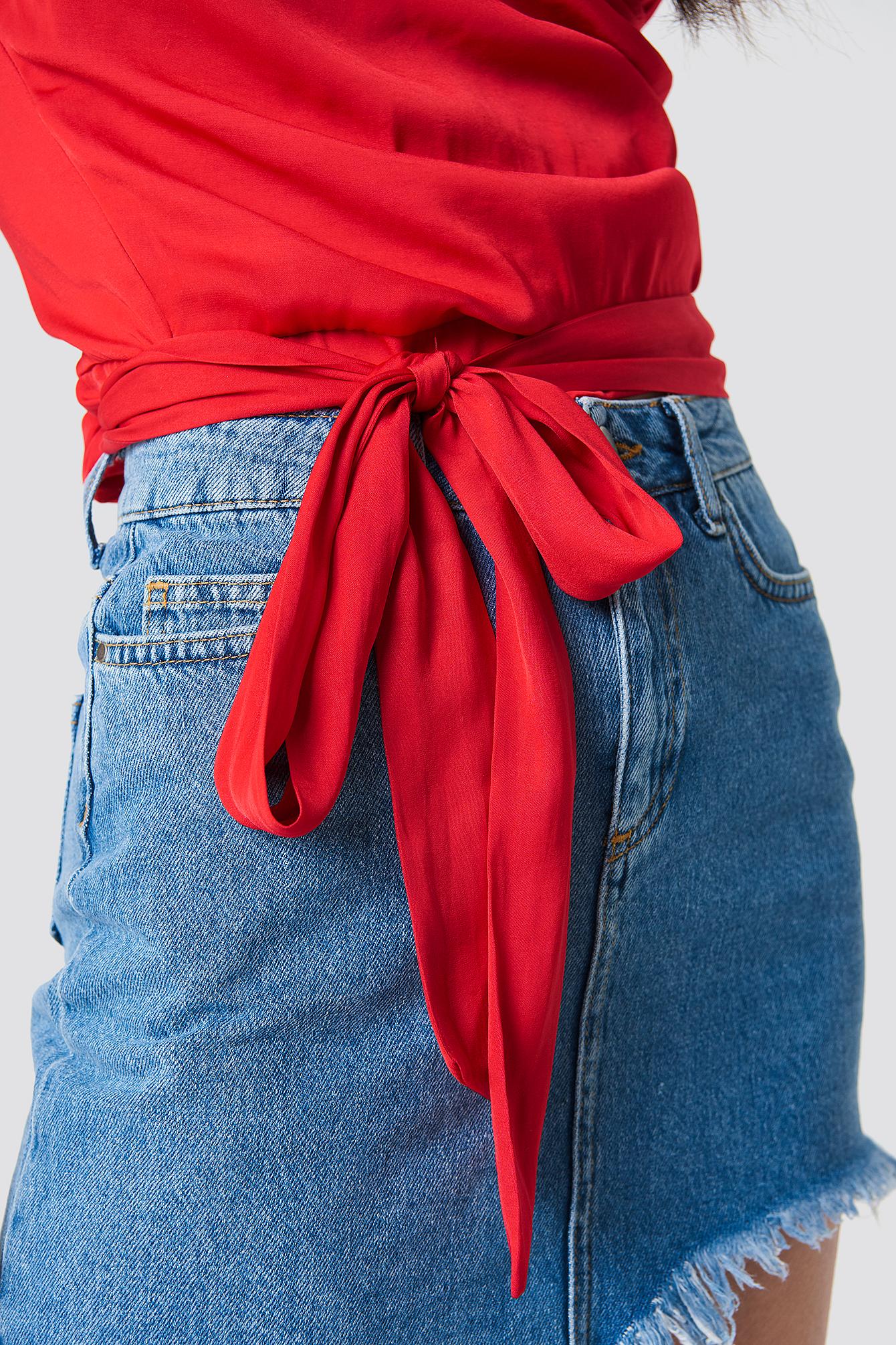 Wrap Bow Top NA-KD.COM