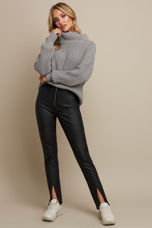 Chunky Sweater Grey