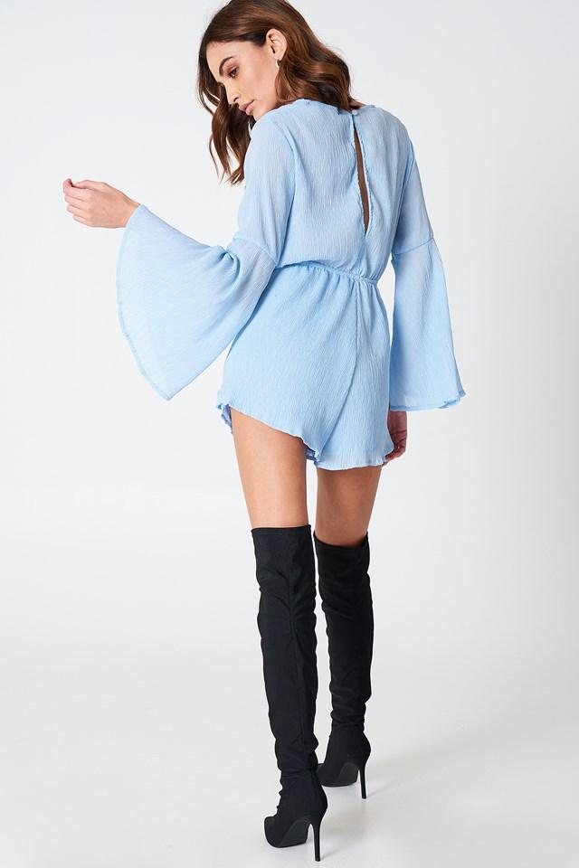 Bel Air Romper Soft Blue