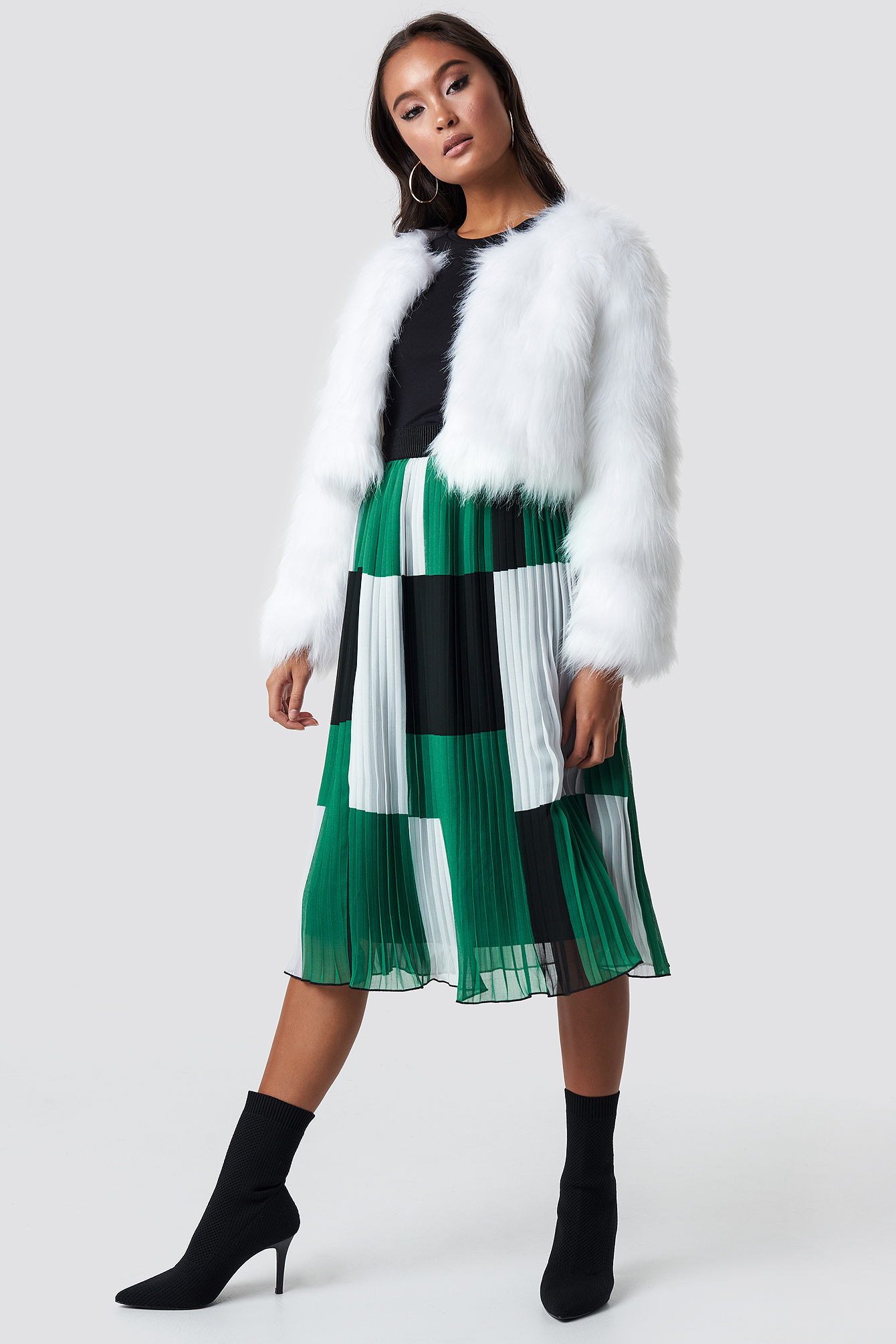 Brigitte Faux Fur Jacket NA-KD.COM