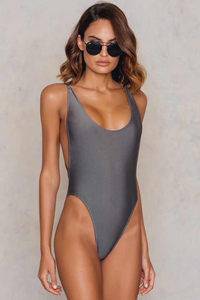 Côte d'Azur One Piece Charcoal