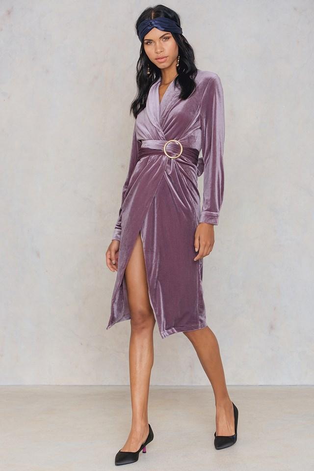 Eastern Opulence Coat Dress Dusty Cedar