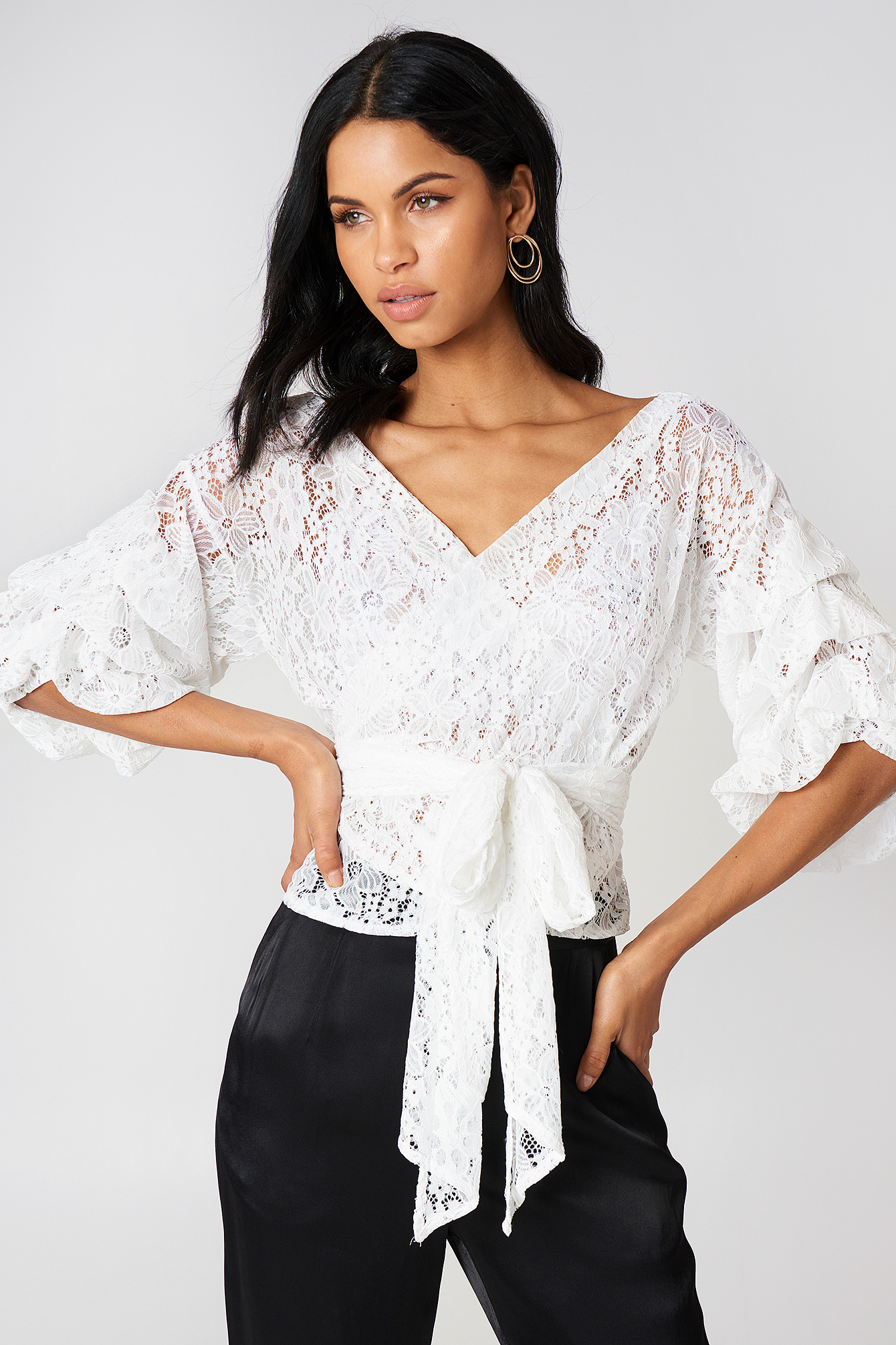 Esmerelda Lace Top