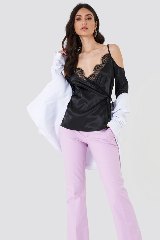 Lace Lovers Top Black