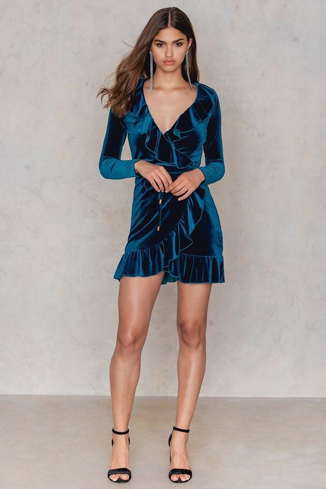 Rendezvous Frill Dress NA-KD.COM