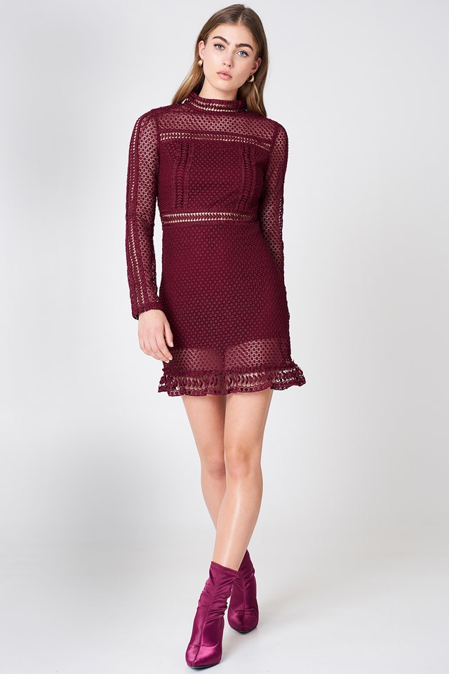 Tiffany Lace Dress NA-KD.COM