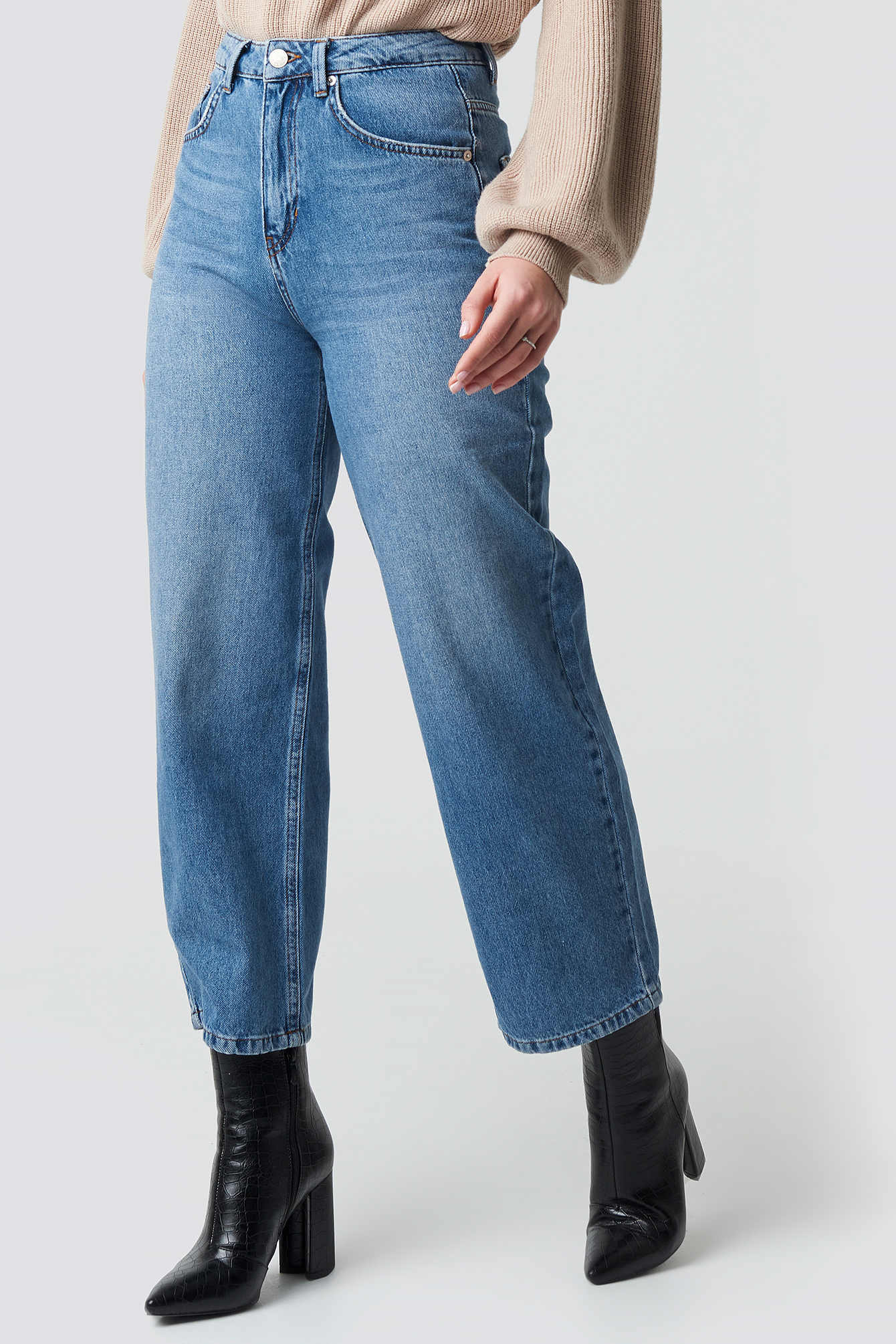 Loose Leg Jeans NA-KD.COM