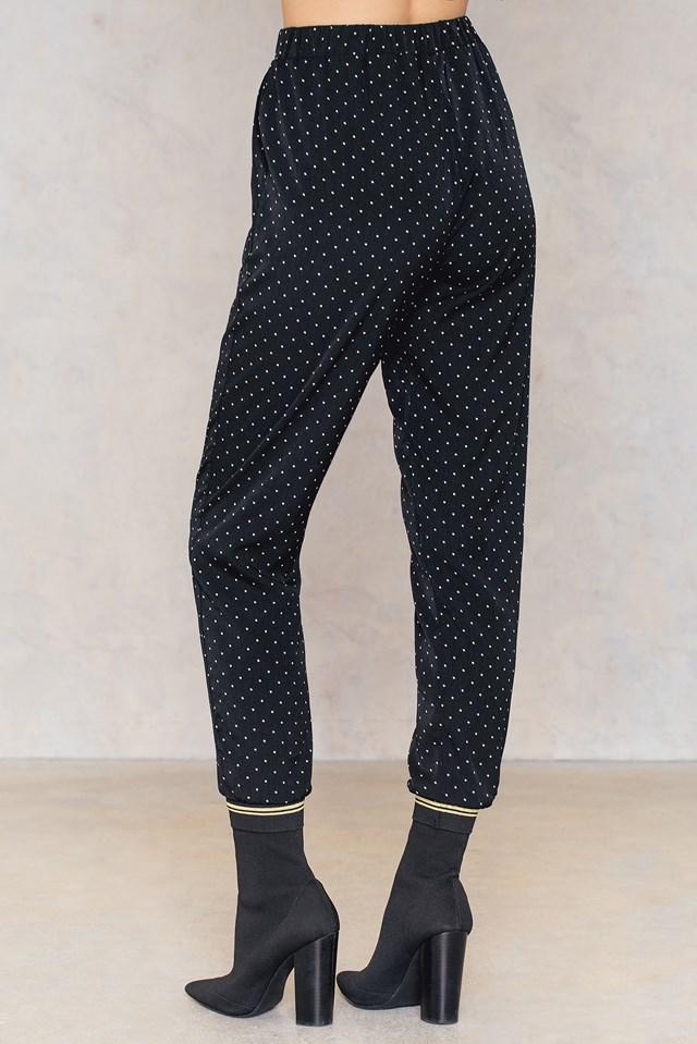 Love 116 Pants Black/Champagne