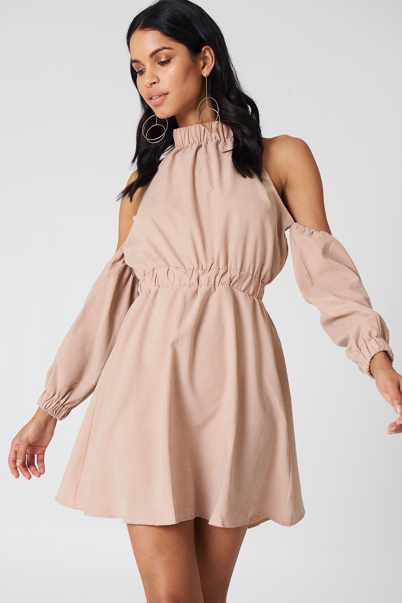 Peyton Cold Shoulder Dress NA-KD.COM