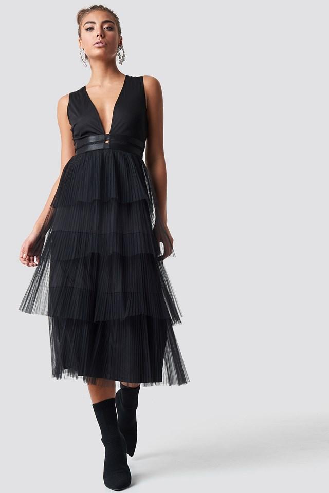 Sukienka z tiulem Black