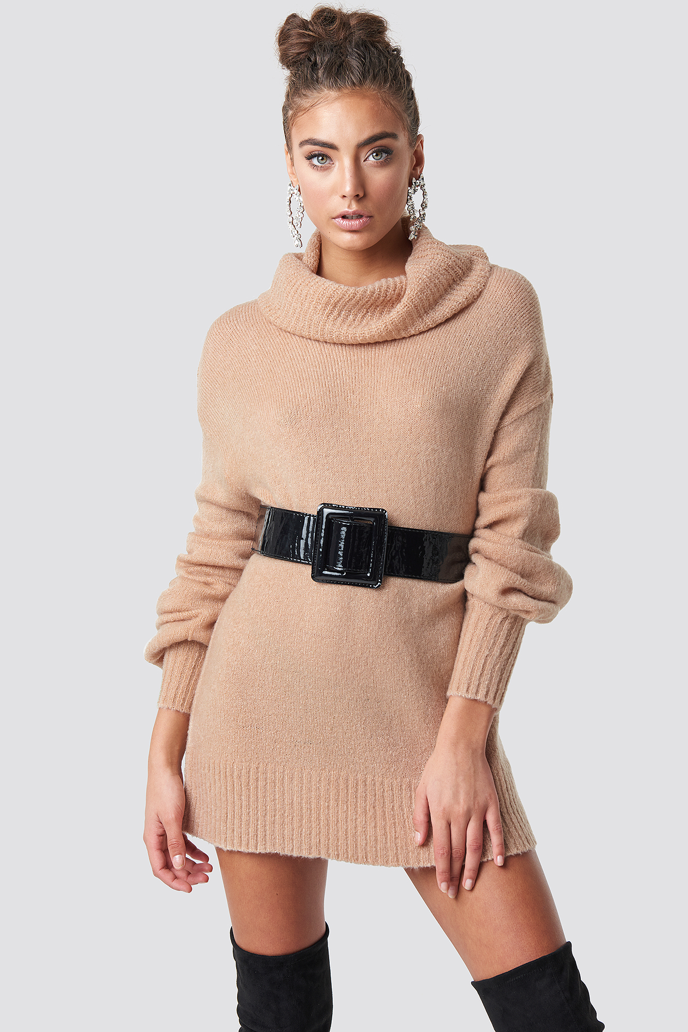 Puff Sleeve Sweater NA-KD.COM
