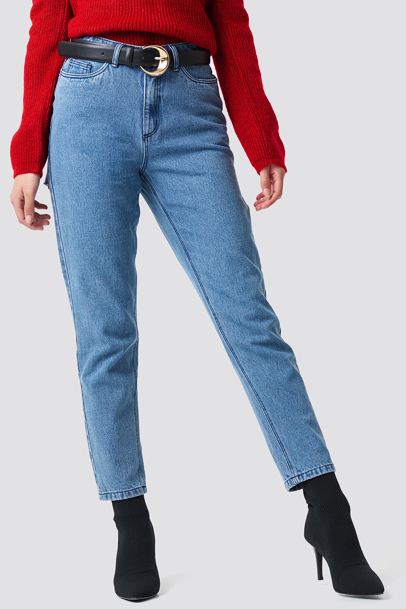 Ripped Back Jeans NA-KD.COM