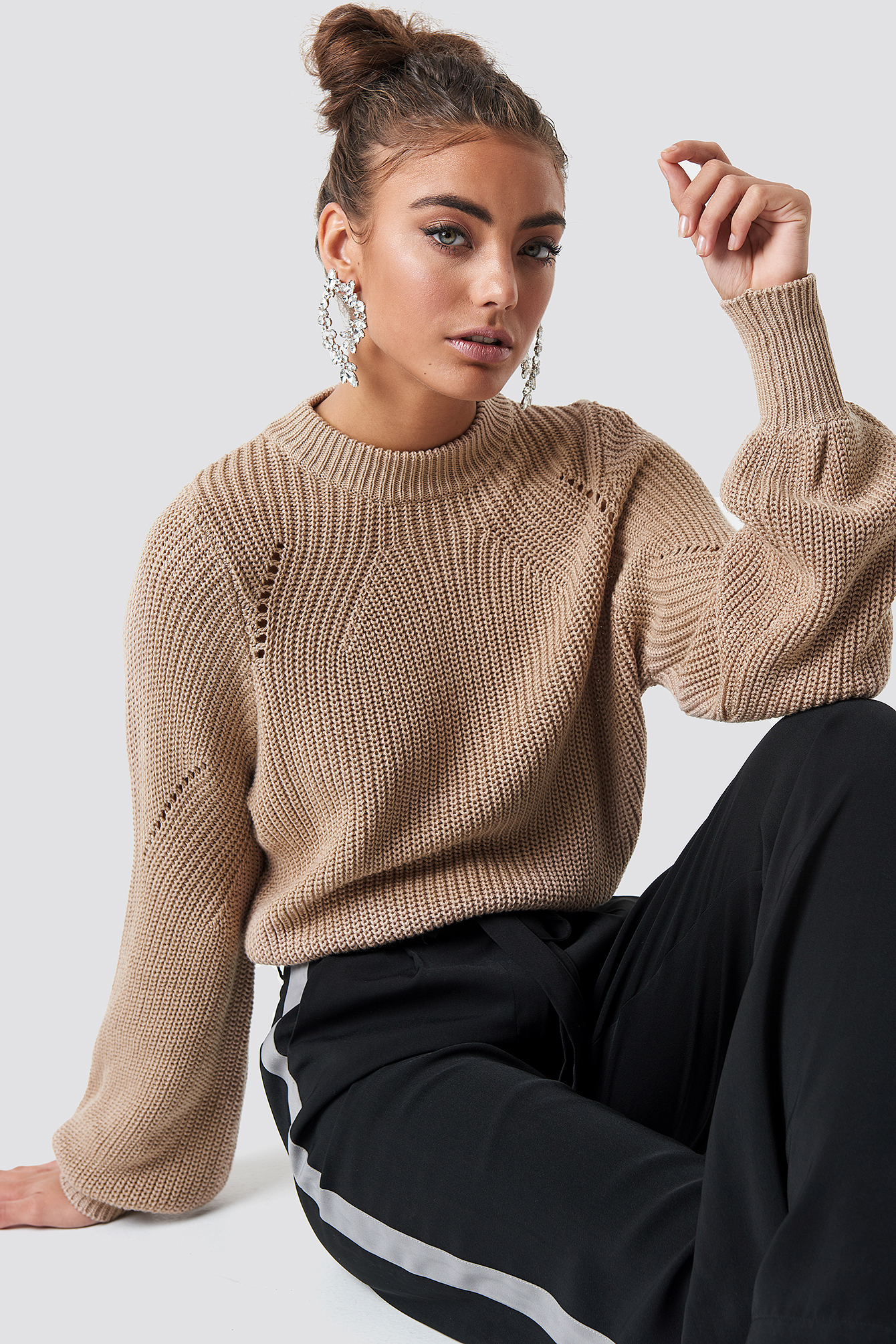 Round Neck Sweater NA-KD.COM