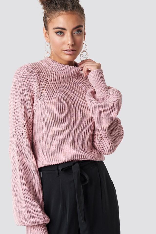 Round Neck Sweater NA-KD.COM