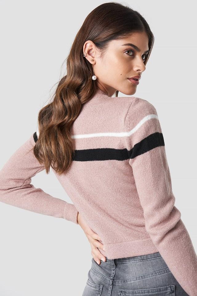 Striped Sweater Blush