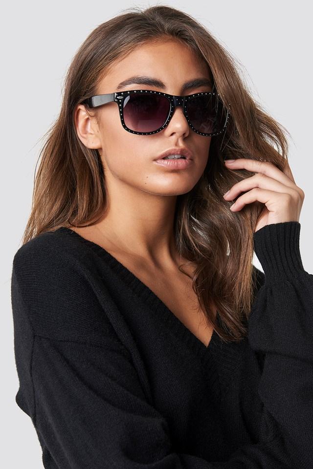 Studded Sunglasses Black