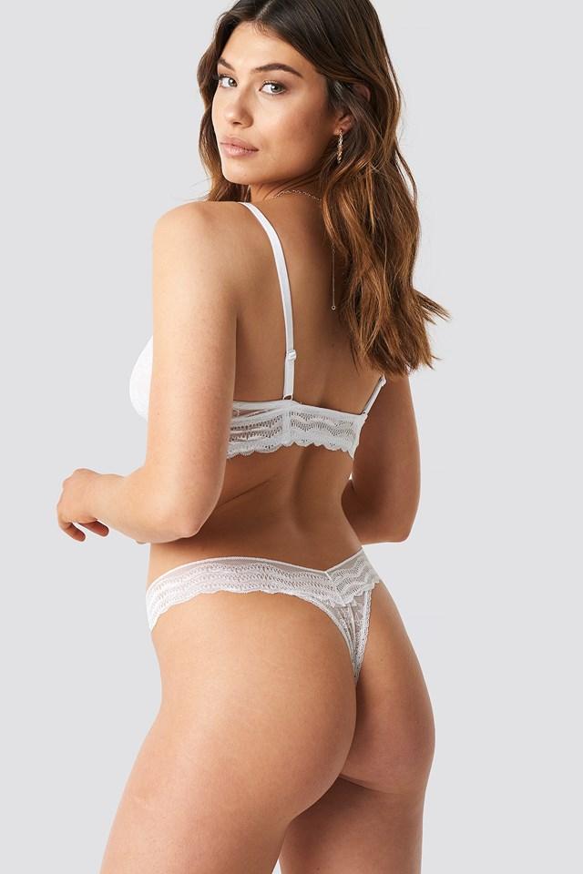Leah String White