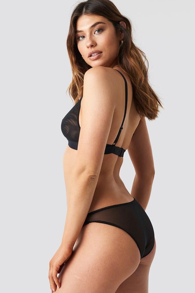 Mae Low Panty Black