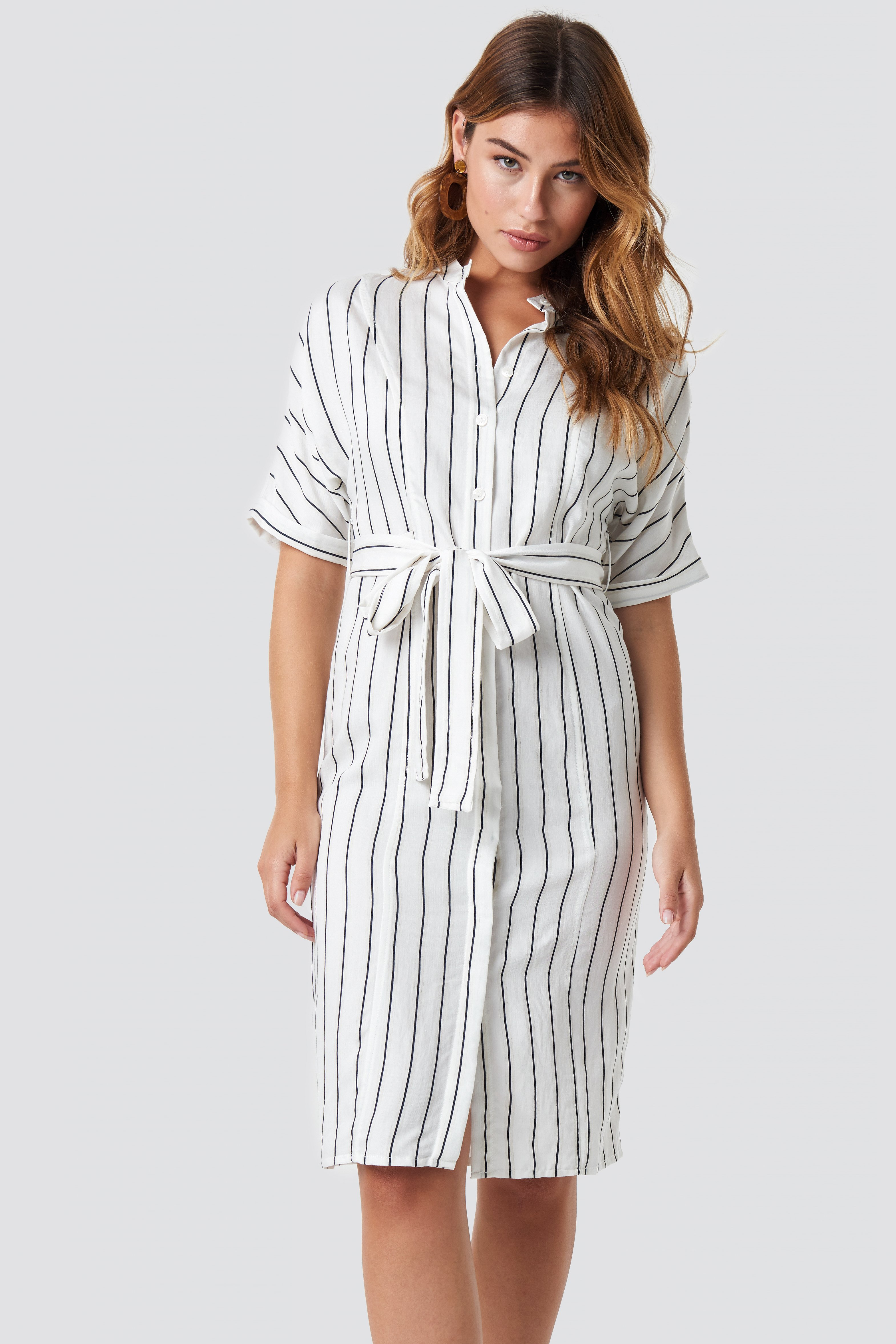 Agnes Midi Dress Offwhite  6e8f10d0a