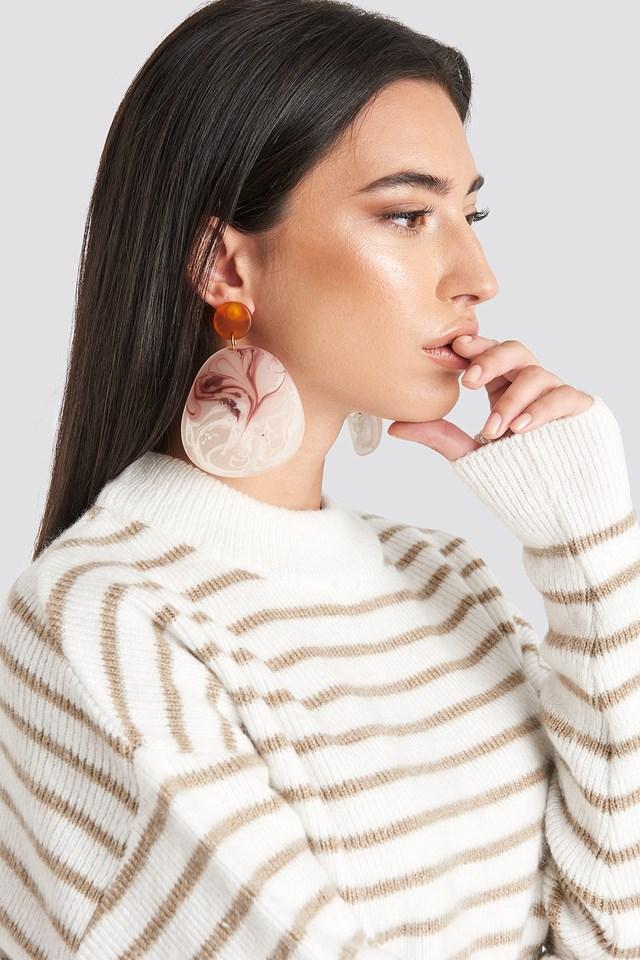 Akili Earrings Pink
