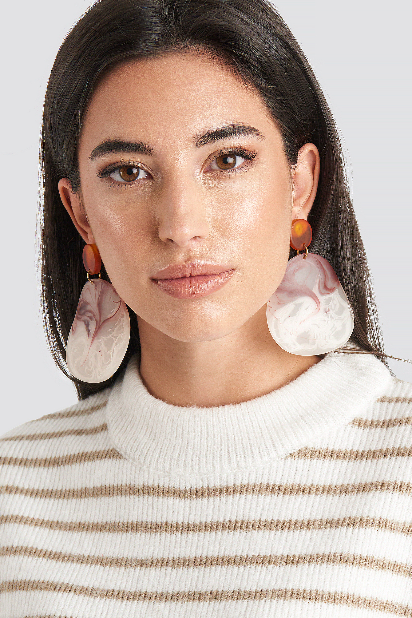 mango -  Akili Earrings - Red,Multicolor