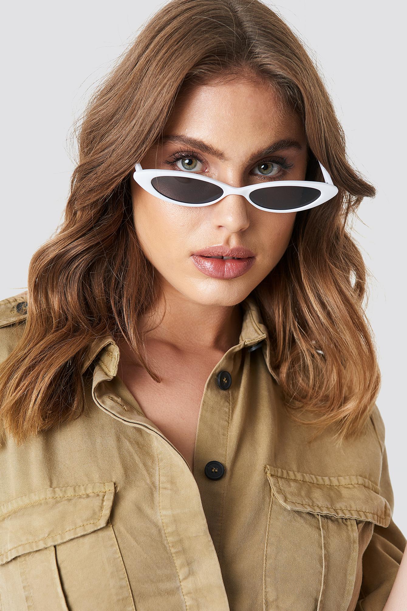 mango -  Alanis Sunglasses - White